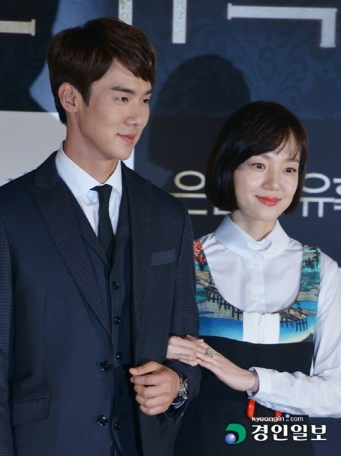 ▲ 배우 유연석, 임수정이 28일 오후 서울 성동구 CGV왕십리에서 열린 영화