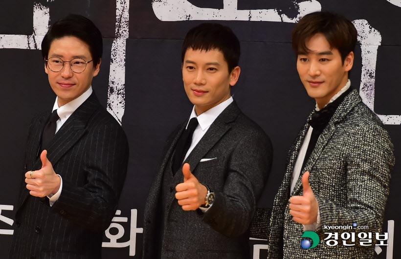 [경인포토]'피고인' 엄기준-지성-오창석, '멋진 남자들'
