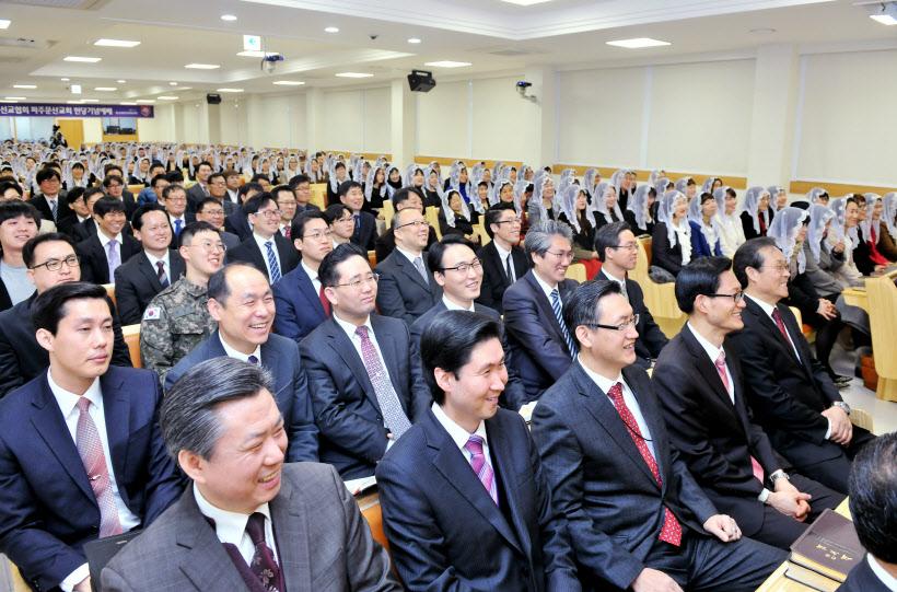 파주문산 하나님의 교회 헌당기념예배