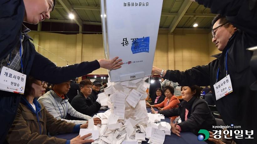보궐선거 투표율, 하남 30.1%·포천 35.3%