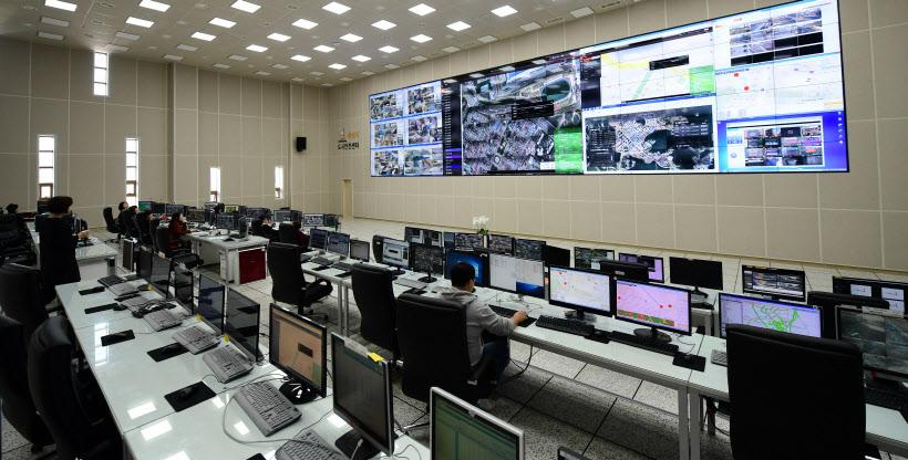 사진10.201712월 개소한 도시안전센터 모습