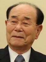 북한 평창올림픽 고위급 대표단장에 김영남 상임...<YONHAP NO-0001>