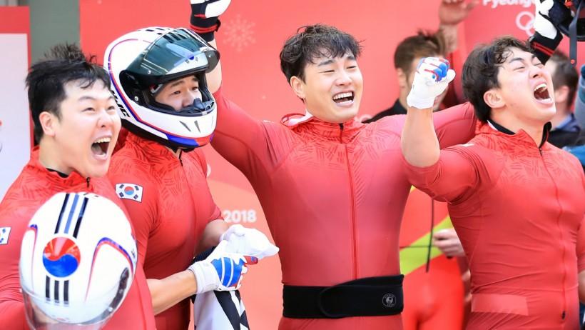 한국 봅슬레이 '우리가 해냈다!'