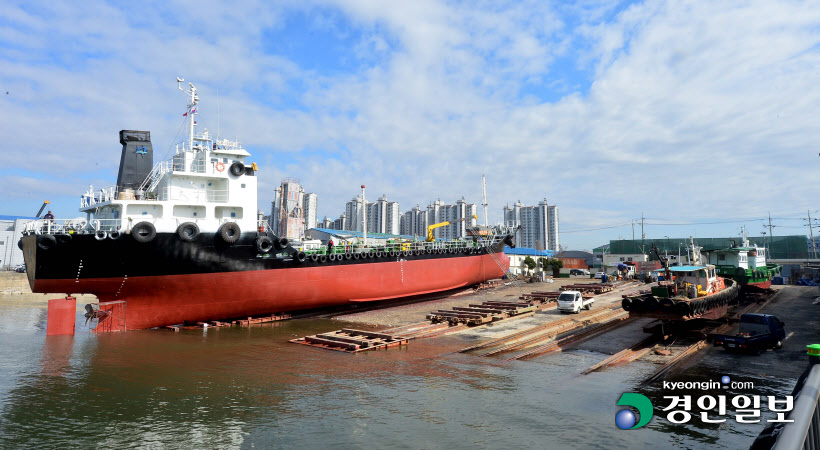 인천 연중기획 바다이야기 만석동 태항조선 선박 수리