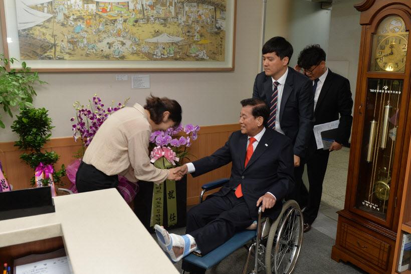 유천호 민선 제8대 강화군수 취임