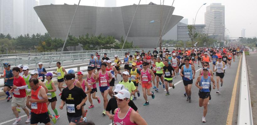 사고용 송도국제마라톤대회