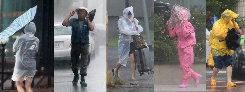 비옷도, 우산도 '속수무책'