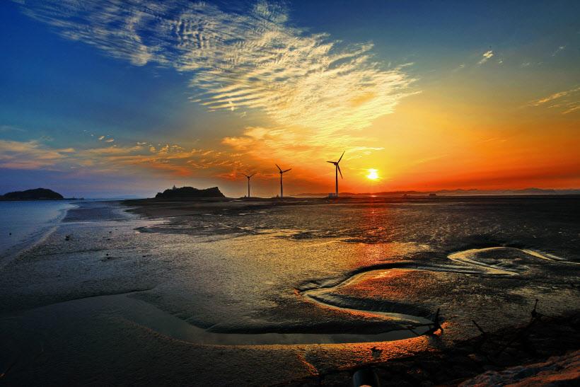 최승렬- 아름다운 탄도항의 일몰