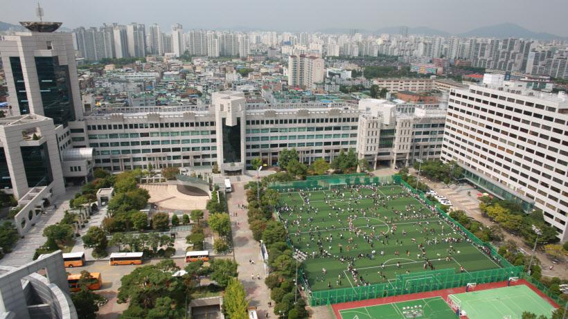 부천대학교 캠퍼스 전경