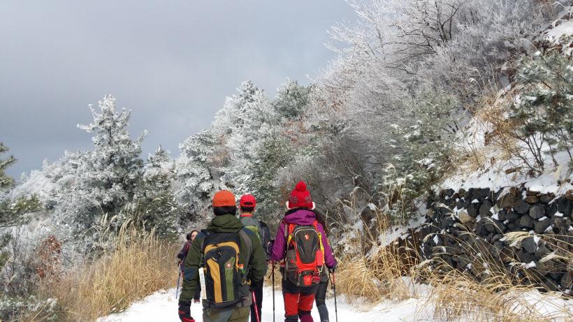 남원바래봉 눈꽃축제
