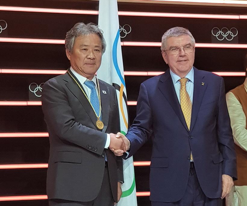 이기흥 체육회장, 역대 한국인 11번째 IOC 위원에 뽑혀