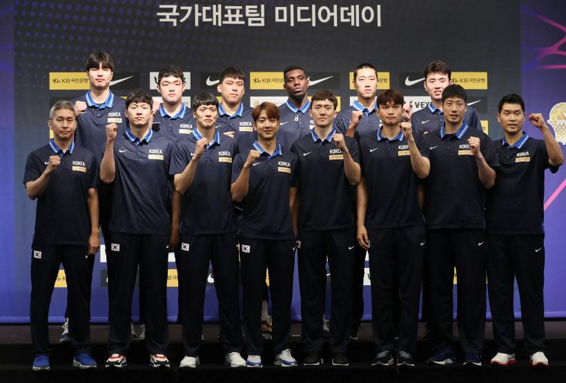 '대한민국 농구 파이팅!'