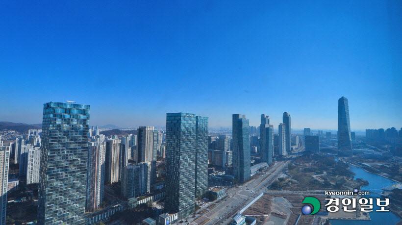 송도국제도시 파란하늘 스케치111