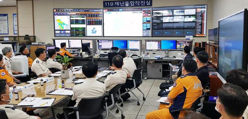 경기도소방재난본부, CCTV 통합관제센터 구축<YONHAP NO-2915>