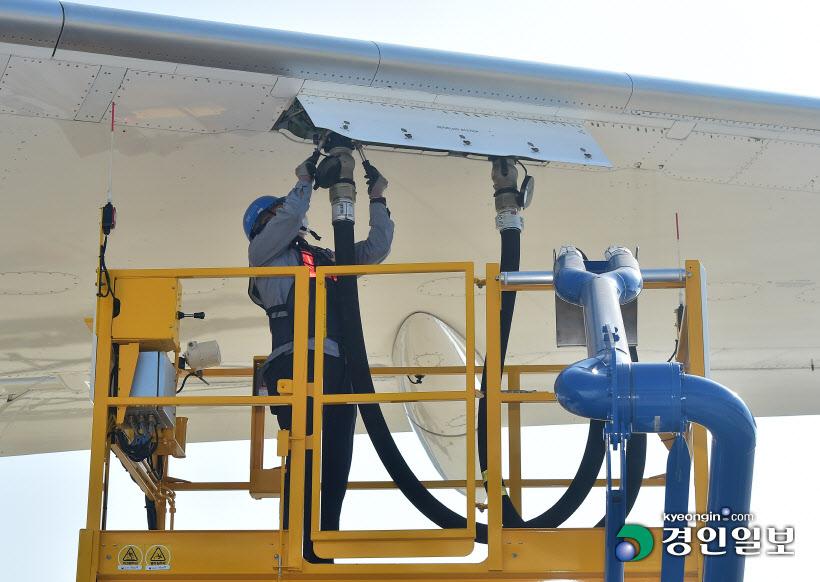 연중기획 인천공항 여객 지상조업 연료 주유 작업
