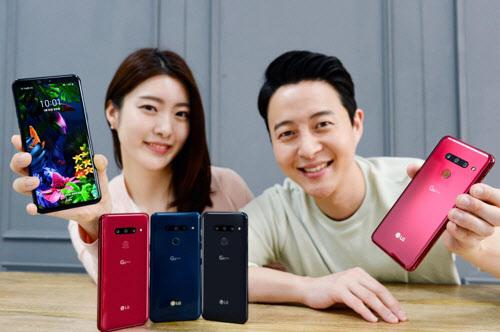 LG G8 씽큐 국내 출시…출고가 89만7천600원