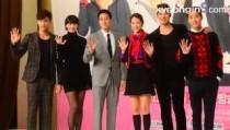 KBS2 새 월화극 `오 마이 비너스` 제작발표회… 소지섭·신민아 포토타임
