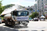 광명시, 폭염 피해 줄이기 `살수차 동원`
