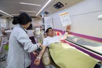 신천지자원봉사단 수원지부, 생명 나누는 헌혈 봉사