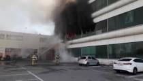 오산산단 한 공장서 화재, 1명 경상·72명 자력대피(종합)