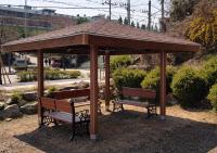김포우리병원, 순국선열의공원에 페르골라 기증설치