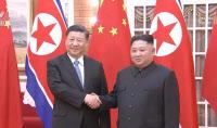 """북중 정상회담…김정은 """"인내심 유지할 것""""·시진핑 """"한반도 문제 적극적 역할"""""""