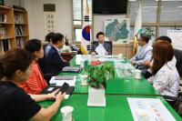 김종천 과천시장, `2019 과천시 창업아이디어 경진대회` 수상자 간담회 개최