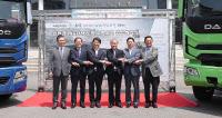 인천 서구 `친환경 LNG청소차량` 시범운행
