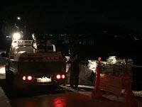[경인포토]김포 돼지열병 농장 앞에 준비된 생석회