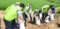 59번째 생일 맞은 농협 '수해 농가 희망나눔 봉사'