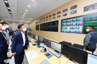 정하영 시장, '파업 3일째' 김포도시철도 관제시스템 점검