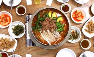 김포 대곶면 '상마리 어탕국수'