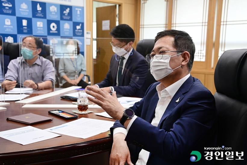 """박남춘 시장 """"수도권매립지 2025년 종료는 인천의 자존심"""" 입장 재확인"""