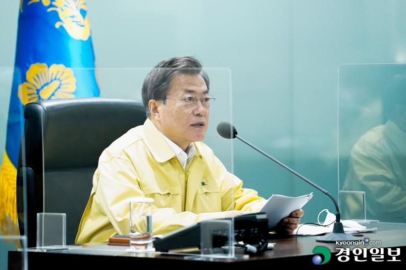 수도권 코로나 최악위기…문재인 대통령 긴급점검